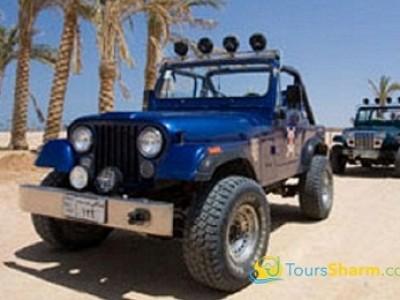 Self-drive jeep safari Sharm el-Sheikh