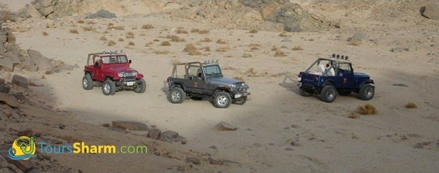 Self-drive jeep safari Sharm el-Sheikh