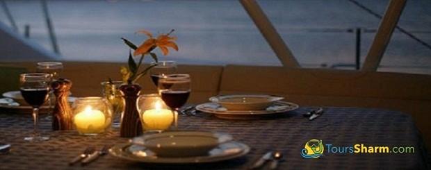 Romantic Dinner in Sharm El-Sheikh