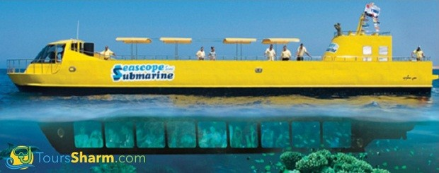 Semi Submarine from Sharm El-Sheikh