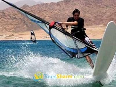 Windsurfing in Sharm El-Sheikh